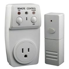 Wireless Appliance Remote Control: getting up to turn off the lights is for noobz.
