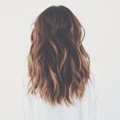 hair goals: shoulder length wavy hair