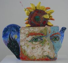 Van Gogh - used to do this idea using chairs, but teapots are quite interesting.