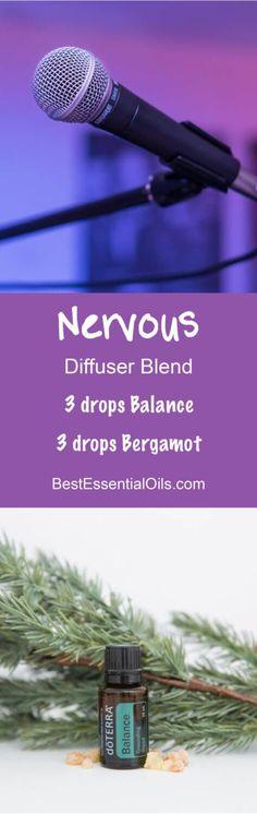 Nervous doTERRA Diffuser Blend