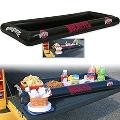Ohio State University Inflatable Buffet #UltimateTailgate #Fanatics