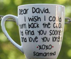 Personalized Mug for him Love mug Boyfriend cup Husband Valentines Gifts For Boyfriend, Boyfriend Birthday, Boyfriend Gifts, Valentine Day Gifts, Boyfriend Ideas, Christmas Gifts, Valentine Ideas For Husband, Ideal Boyfriend, Xmas
