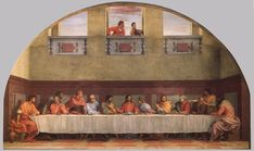 The Last Supper (detail) - Andrea del Sarto. Artist: Andrea del Sarto