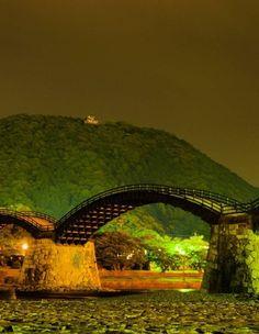 Kintaikyo Bridge, Iwakuni, Yamaguchi, Japan, 錦帯橋, 岩国, 日本