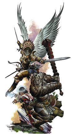 Raptoran, Goliath, Illumian
