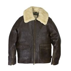 Cockpit USA The ANJ-4/AN-6552 was a late WW2 development of a sheepskin jacket designed to be more accommodating in a cockpit in lieu of the bulkier B-3 sheepskin. Test samples were developed and a le