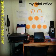 Design Kamar Kos - mini office