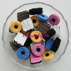Crochet candy by Cupcake By Me