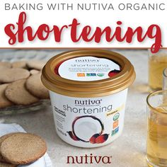 Baking with Nutiva Organic Shortening. Our shortening consists of an organic blend of virgin coconut and red palm oils. kitchen.nutiva.com