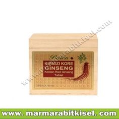Balen Korean Red Ginseng 120 Tablet  Tahta Kutu