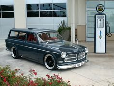 Vocks Volvo 1967 Amazon Wagon, makes you wonder what you are gonna do with 600hp under the hood