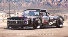 Widebody 1970s Ford F-Series Rendering Is Out Of This World, You Can Ken Block?
