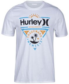 e1935252d5 Hurley Men s Graphic-Print T-Shirt Indianos Americanos