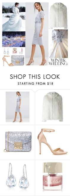 """Winter wedding"" by iojeni ❤ liked on Polyvore featuring ASOS, Dondup, Furla, Jimmy Choo, Reception, Swarovski, Smith & Cult and Rodin"