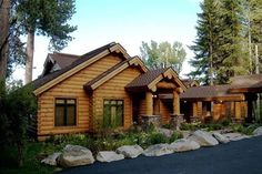Yellowstone Front Elevation -- Natural Element Homes