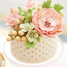 floral cake - Google Search