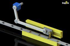 Advancing Perforated Strip - STEP / IGES - 3D CAD model - GrabCAD