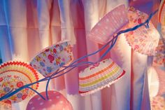 Cupcake Liner Twinkle Lights - Happy Happy Nester