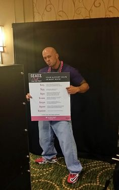 ☆RT Model John Quinlan - Promotional Shoot @ 'Friends Fight Together' Breast Cancer Fundraiser New Orleans 14' #JohnQuinlan