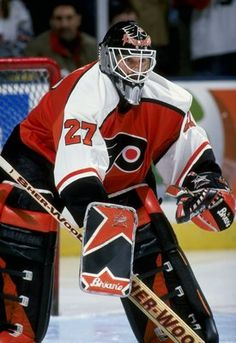 Ron Hextall  GREATEST OF ALL TIME Flyers Hockey, Ice Hockey Teams, Hockey Goalie, Hockey Games, Hockey Players, Sports Teams, Lord Stanley Cup, Hockey Room, Hockey Boards
