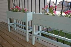 planter boxes by Karlf