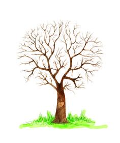 Gastenboek voor een bruiloft. www.leafyourlove.nl Family Tree Art, Family Wall Decor, Free Family Tree, Tree Wall Decor, Tree Templates, Drawing Templates, Tree Illustration, Graphic Illustration, Box Frame Art