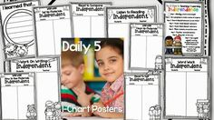 First Grade Blue Skies: Daily 5 {Second Edition} FREEBIE and Book Study Ch 7