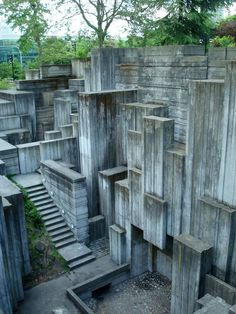 Freeway Park, Seattle, Washington, USA