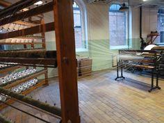 evehel: 1900's Textile Museum and factory in Tilburg > kettingscheren