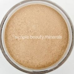 """Fairly Fair Mineral Foundation: For porcelain skin with neutral to pink undertones. Our enriched Ultra Light formula offers a fluffy, light coverage mineral foundation, with """"barely there"""" coverage. Ingredients such as green tea extract, chamomile, and vitamins A & E combine to soothe irritated skin, smooth lines and wrinkles, and provide anti-aging protection. Find it here: https://simplebeautyminerals.com/product/mineral-makeup-foundation-fairly-neutral/"""