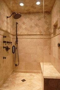 bathroom tile ideas travertine. Could Use Tile Design For Bathtub Shower Combo Surround. Travertine Design, Slate Pictures, Remodel, Decor And Ideas Bathroom T