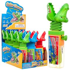 Kidsmania Gator Chomp x 12 units Packing, The Unit, Candy, Bag Packaging, Sweets, Candy Bars, Chocolates