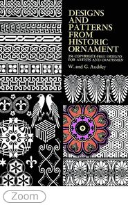 Designs and Patterns from Historic Ornament (Dover Pictorial Archive) - AbeBooks - Audsley, W. Mehndi, Doodles, Artist And Craftsman, Line Drawing, Textures Patterns, Surface Design, Textile Design, Flower Designs, Free Design