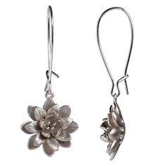 Silver pom pom flower $49