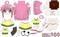 Lala Satalin Deviluke (Joey's chibi Girls) by ELJOEYDESIGNS.deviantart.com on @DeviantArt