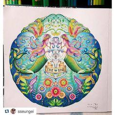 Instagram media desenhoscolorir - Que degradê maravilhoso! By  @sseungei…