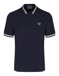 Fred Perry Men's Reissues Single Tipped Polo Shirt - Navy