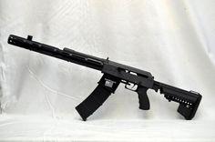 saiga 12 semi automatic shotgun