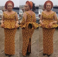 Fantastic Fitted Ankara Skirt and Blouse Styles You Need to Rock Owambe.Fantastic Fitted Ankara Skirt and Blouse Styles You Need to Rock Owambe African Lace Dresses, Latest African Fashion Dresses, African Dresses For Women, African Print Fashion, African Wear, African Attire, African Women, Ankara Fashion, African Blouses