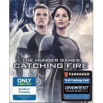 The Hunger Games: Catching Fire Blu-ray Steelbook Only @ Best Buy