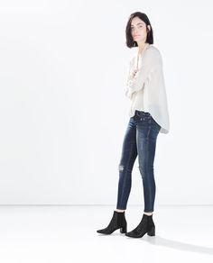 SKINNY JEANS-Jeans-WOMAN | ZARA United States