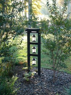Harmony Botanical Tower, early morning, October 2014.  I like the way the light was reflected in the lanterns that particular morning.