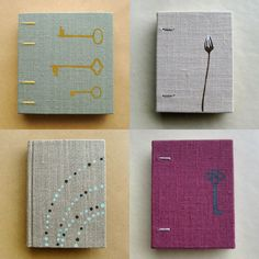 i'd love one of these homemade books. right up my alley.