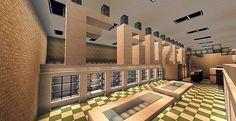 SuperMarket Minecraft building ideas shopping 4