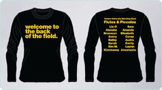 flute section t-shirt ideas - Google Search