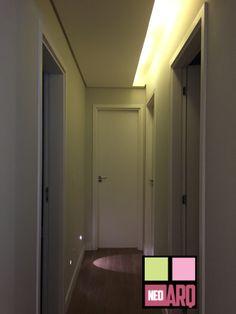 Iluminação hall. Portfólio Neo Arq SP