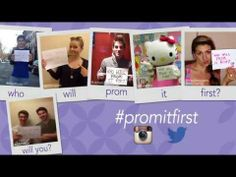 Who Will Prom It First? Show us using #promitfirst