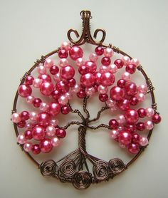 videos on the tree of life pendants | tree of life pendant by rachaelswiregarden artisan crafts jewelry ...