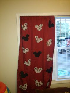 mickey mouse curtains on pinterest mickey mouse bedroom large