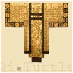 QI TURTLE | brown patina on hammered brass | 136 x 127 cm | 53.5' x 50' | Private Collection FRANCE | #hdnart #laiton #contemporaryart #visualart #metalart #interieurdesign #interieur #metaltapestry #homedesign #brassartist  #hdnartwork #kimono #japanesekimono  #beauxarts #artwork #wallart #sculptureart #artcollectors #artcollections